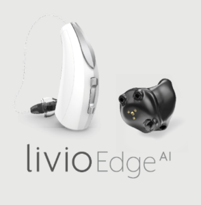 modèle d'appareil auditif - LivioEdge - Audition Cornuau