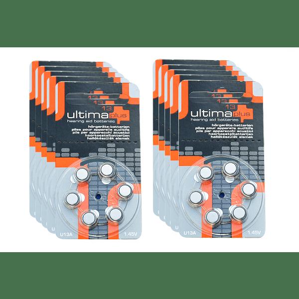 Piles ultima plus 13 pack x10 appareil auditif